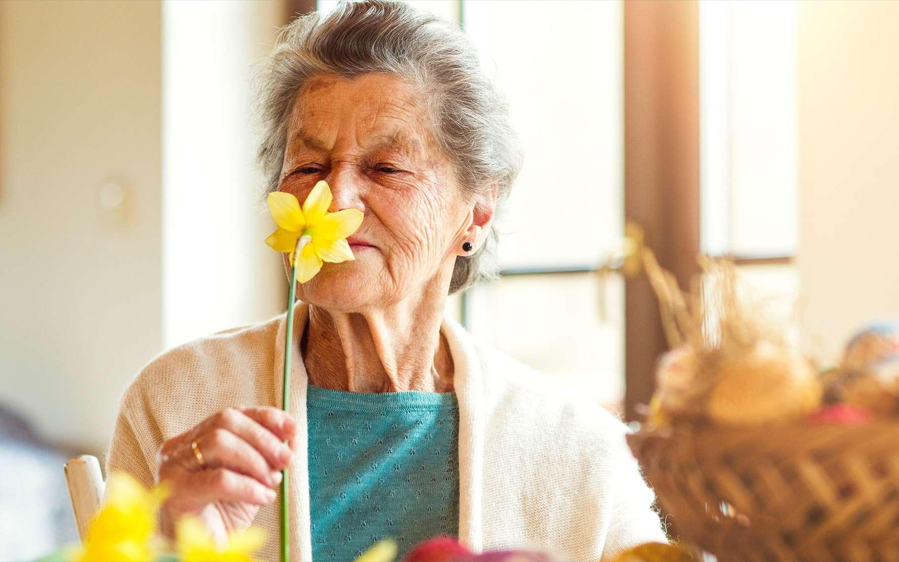 La perte d'odorat est un symptôme courant de la maladie d'Alzheimer. © Halfpoint, Shutterstock