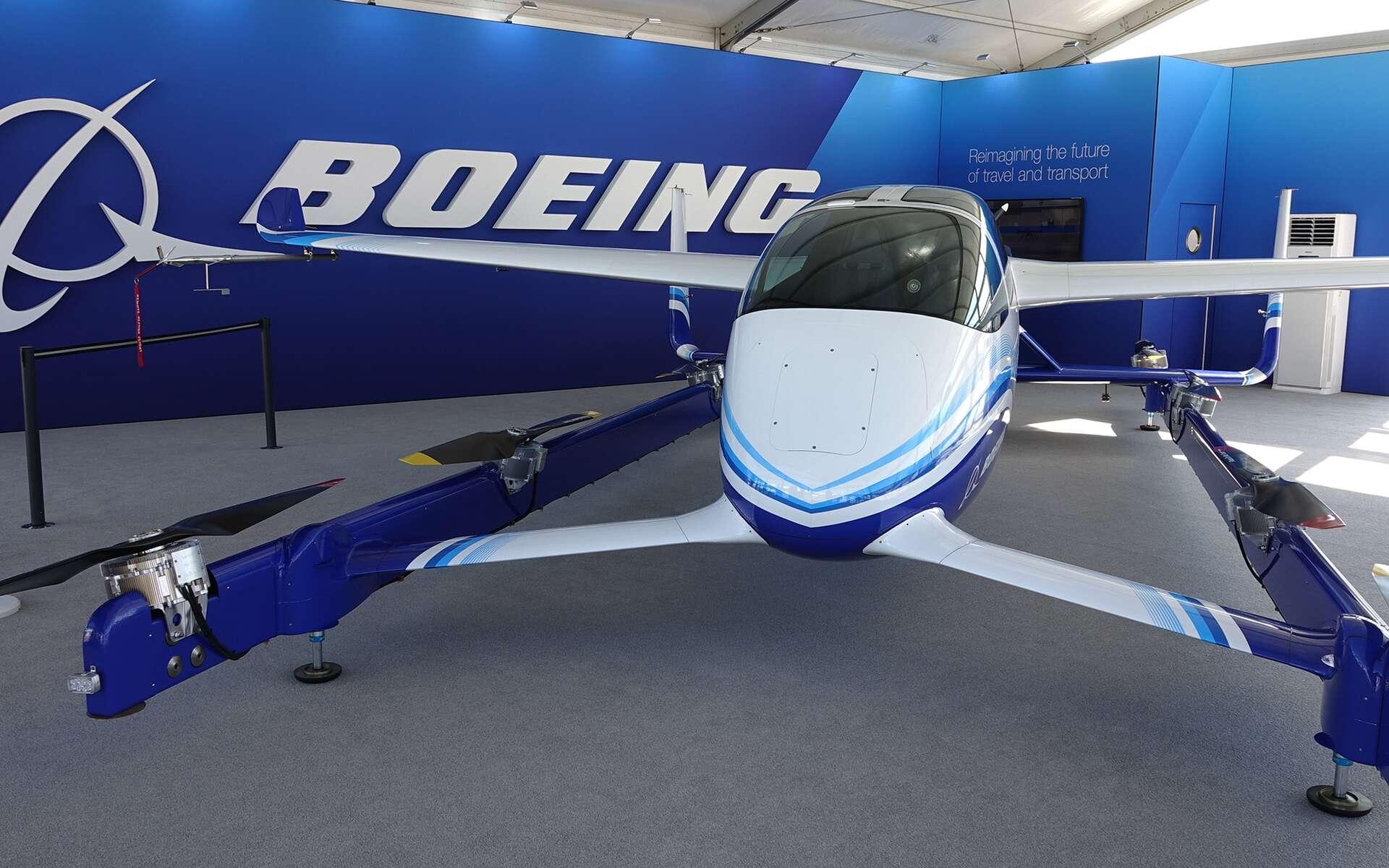 L'Autonomous Passenger Air Vehicle de Boeing présenté au Salon du Bourget 2019. © Rémy Decourt