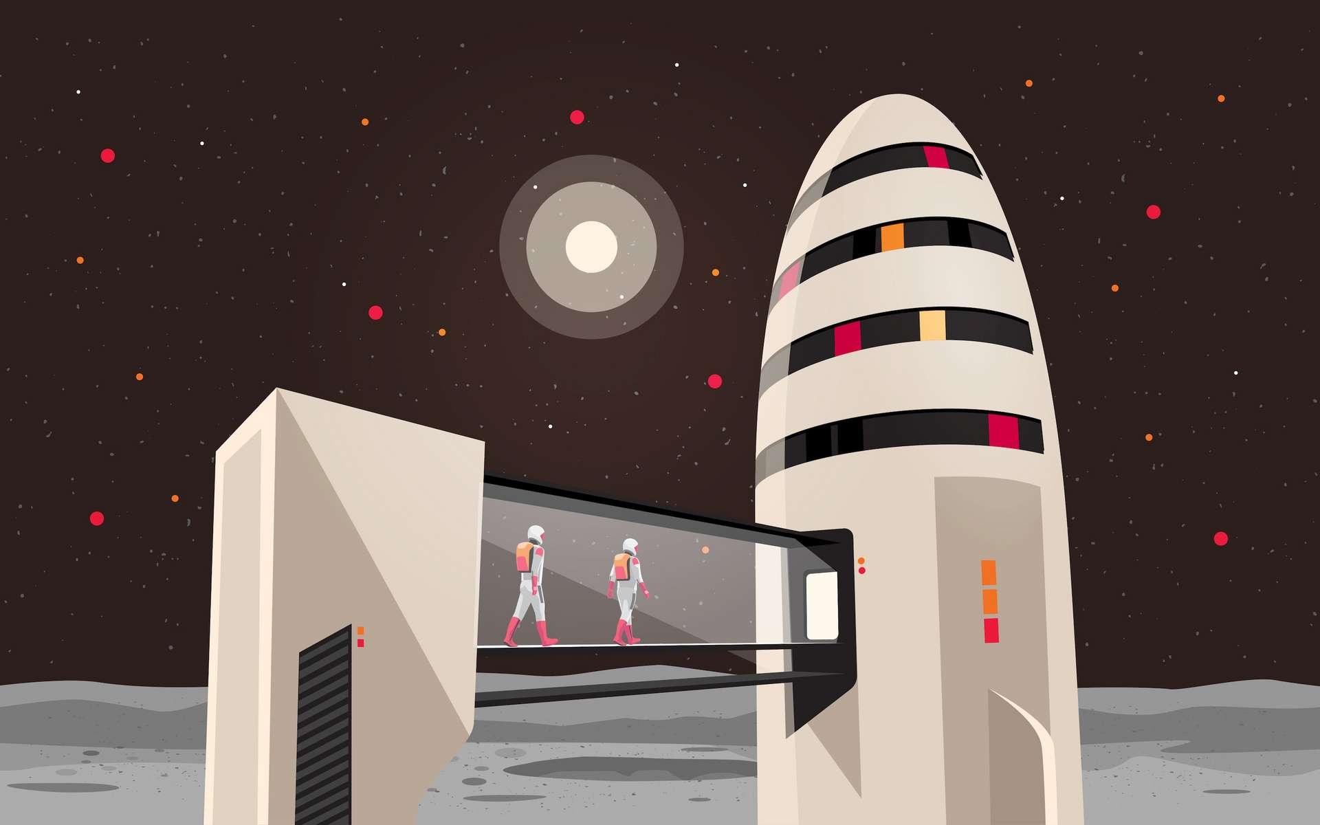 L'année 2021 nous promet de beaux et grands moments d'exploration spatiale. © petovarga, Adobe Stock