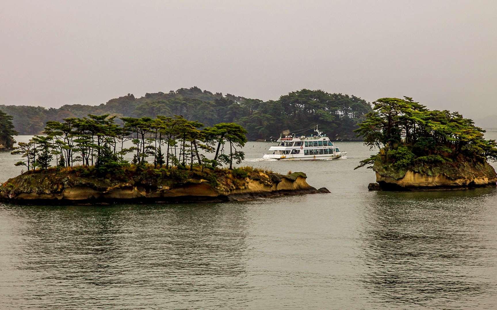 La baie de Matsushima et ses îlots. © Antoine - Tous droits réservés