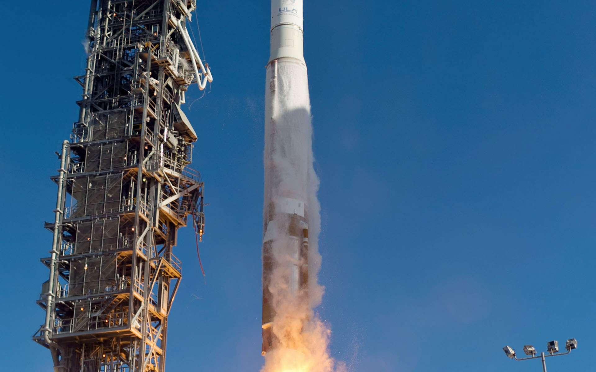 Décollage du satellite Landsat 8. Une mission qui concerne, à plus d'un titre, les sept milliards d'humains qui peuplent la Terre. © United Launch Alliance
