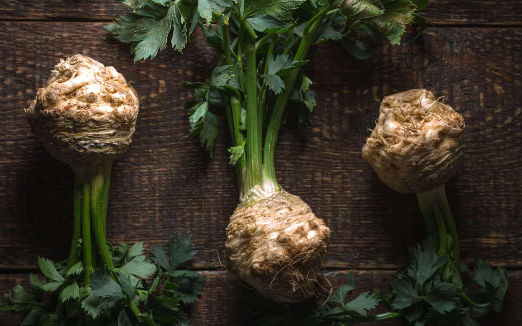 Tout se mange dans le céleri, cuit ou cru. Il est l'atout minceur et plein de vitamines. © deniskarpenkov, Fotolia