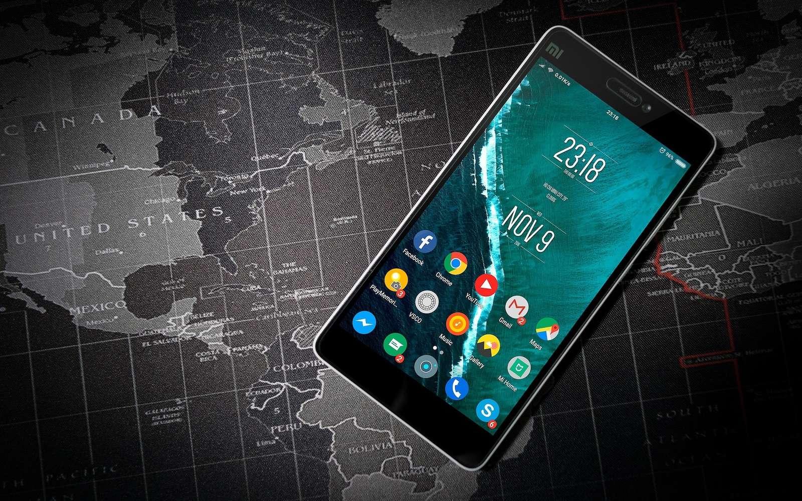 Sans votre accord, des applications Android parviennent à récupérer des données confidentielles comme la géolocalisation de l'appareil. © Pexels, Pixabay