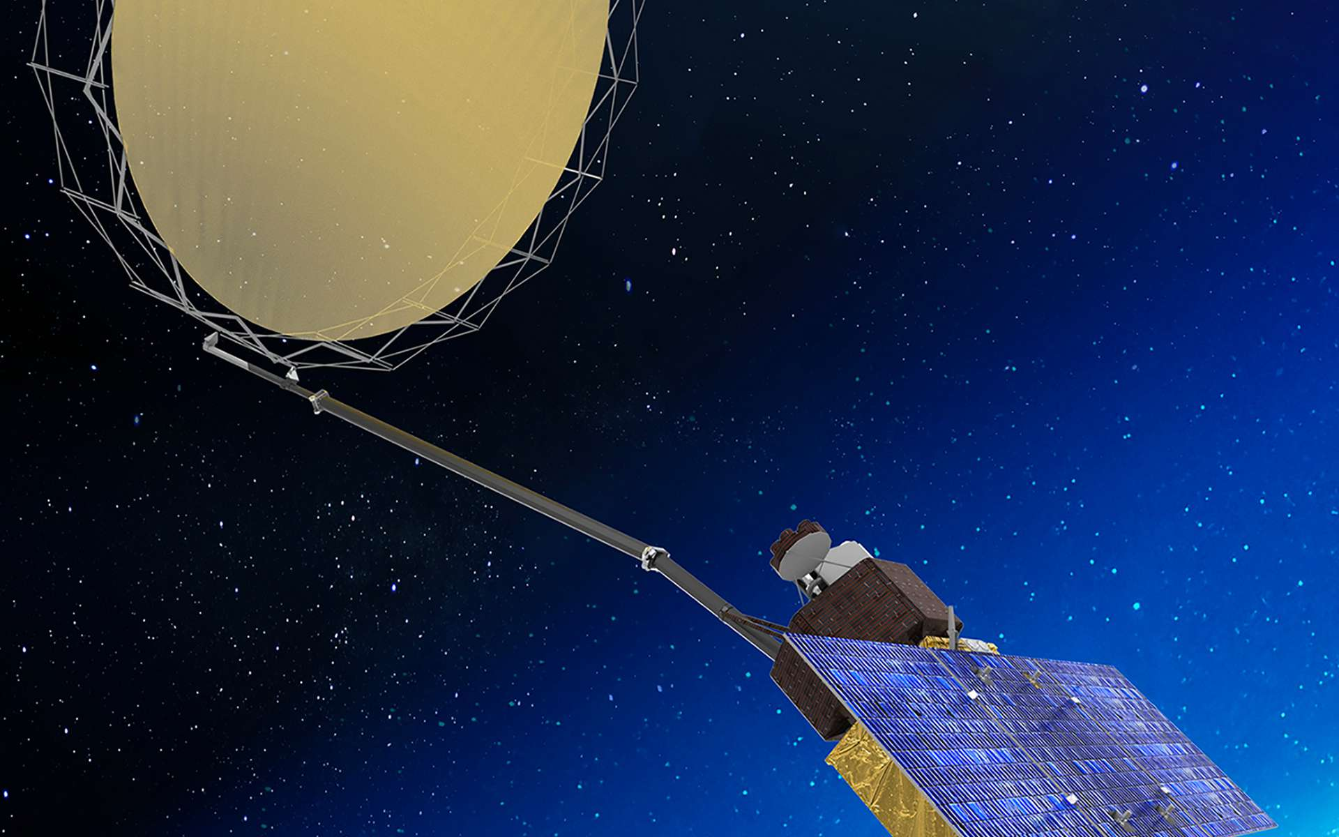 Copernicus Imaging Microwavve Radiometer, futur satellite Sentinel du programme Copernicus. © Thales Alenia Space