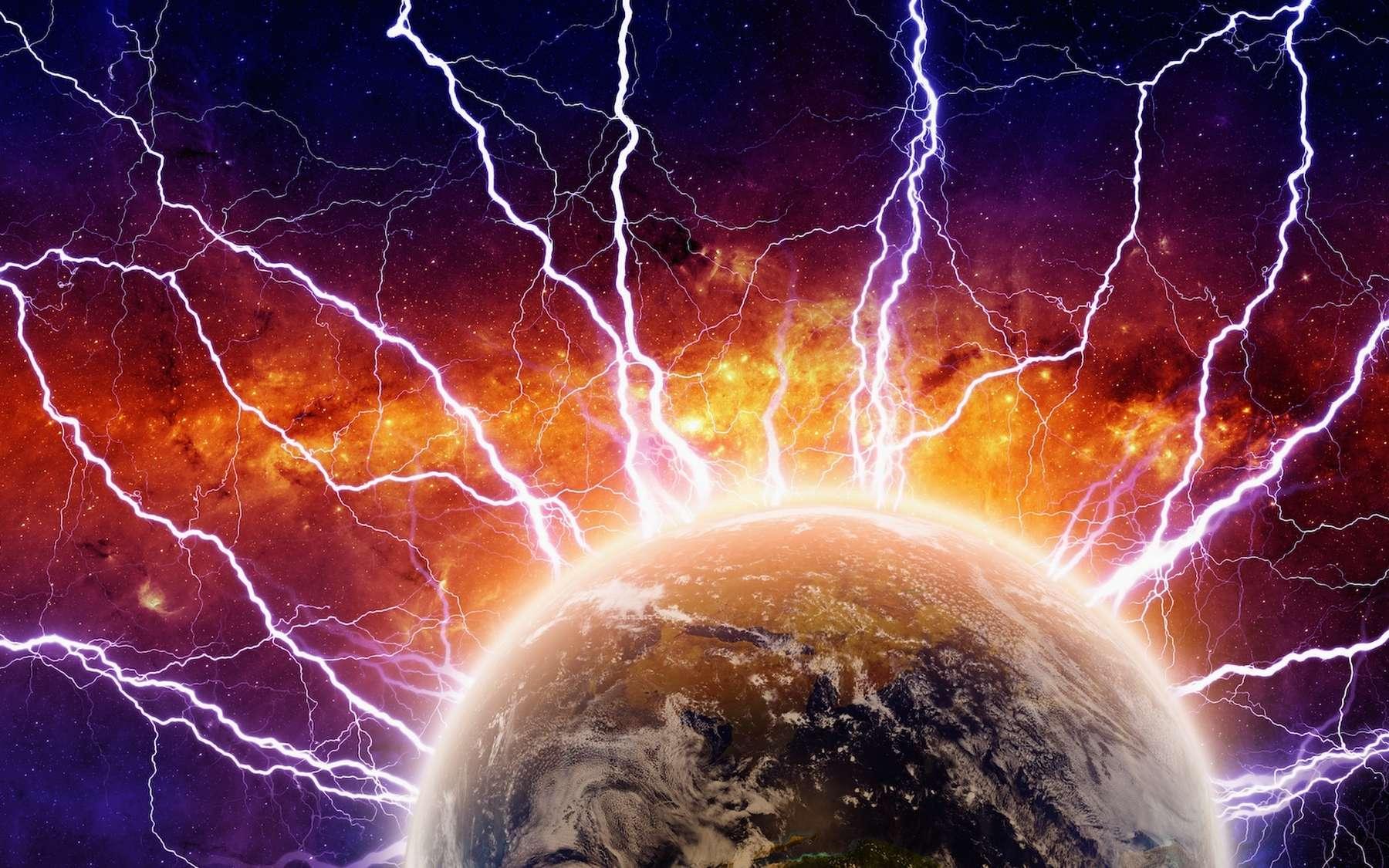 La Terre était bombardée par les éclairs il y a 3,5 milliards d'années. © IgorZh, Adobe Stock