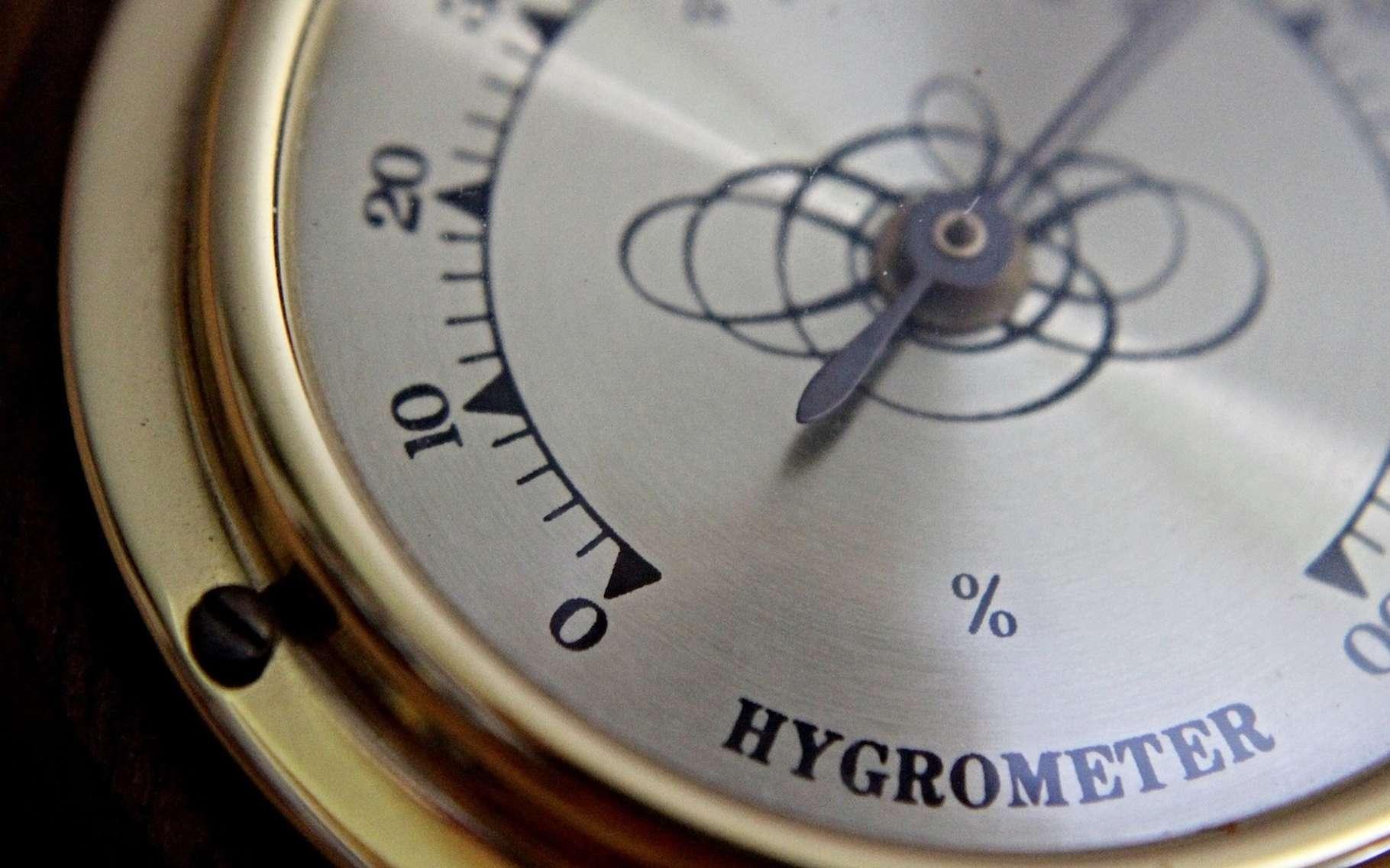 Un hygromètre sert à déterminer la quantité d'humidité présente dans l'atmosphère. © rschaller, Pixabay, DP