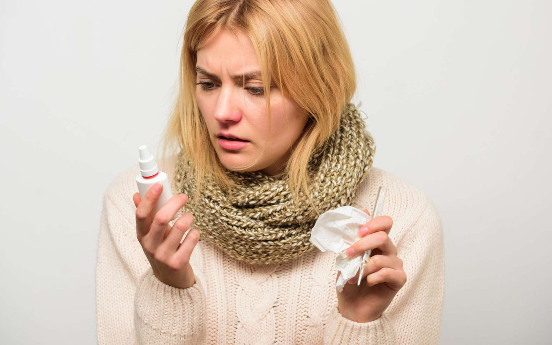 Chaque année, la grippe tue en France des milliers de personnes. Mais grâce à une solution mise au point par des chercheurs à partir d'anticorps de lamas, la donne pourrait changer. © Roman Stetsyk, Fotolia
