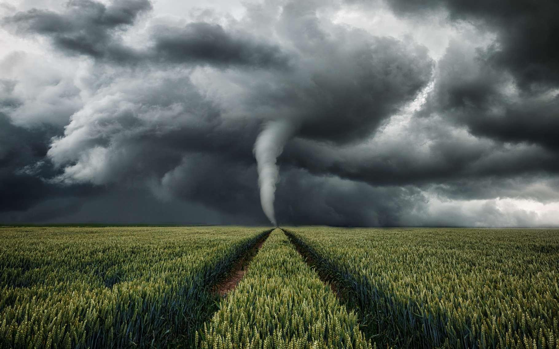 Chaque année, on recense une cinquantaine de tornades en France. © ohenze, Fotolia