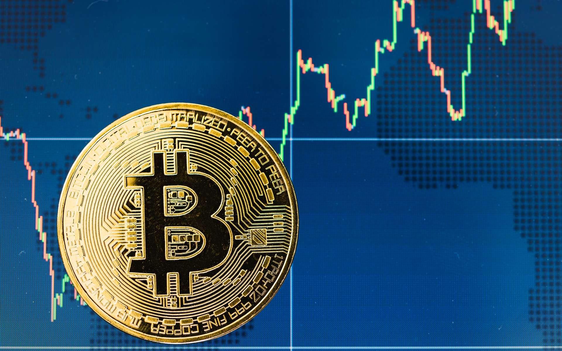 Même en cas de crise, les investisseurs semblent continuer de faire confiance aux crytomonnaies. © Sorapop, Adobe Stock
