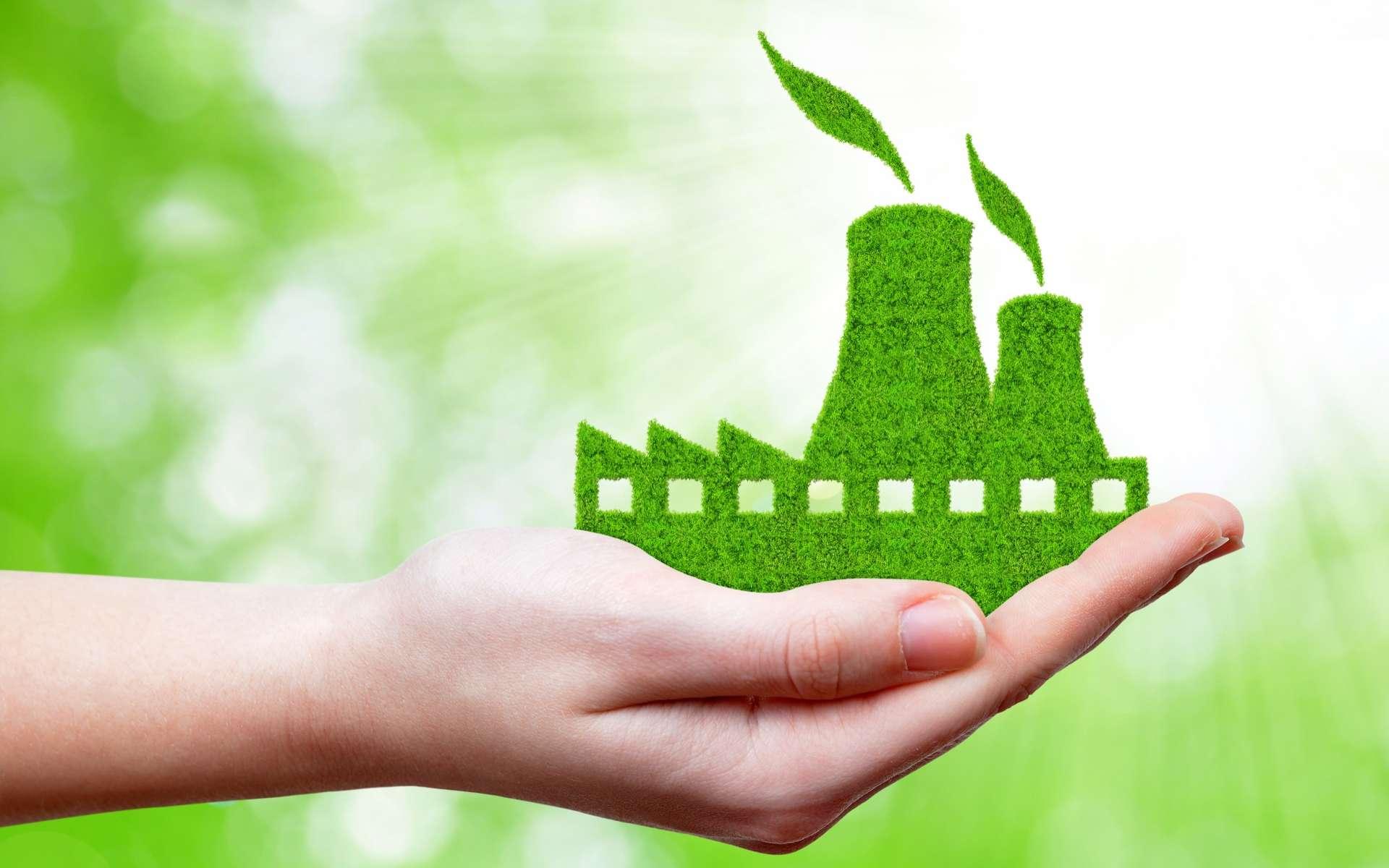 Pour répondre aux besoins croissants du marché, des petits réacteurs nucléaires modulaires ou SMR se développent de plus en plus. Le projet français, Nuward, a le soutien d'EDF et du CEA. © vencav Adobe Stock