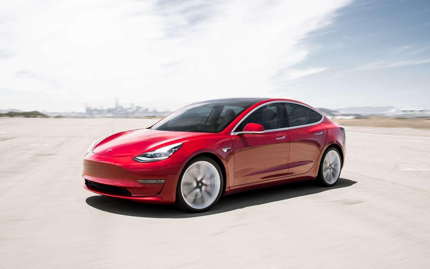La dotation d'une voiture au concours de hacking Pwn2Own est une première. © Tesla