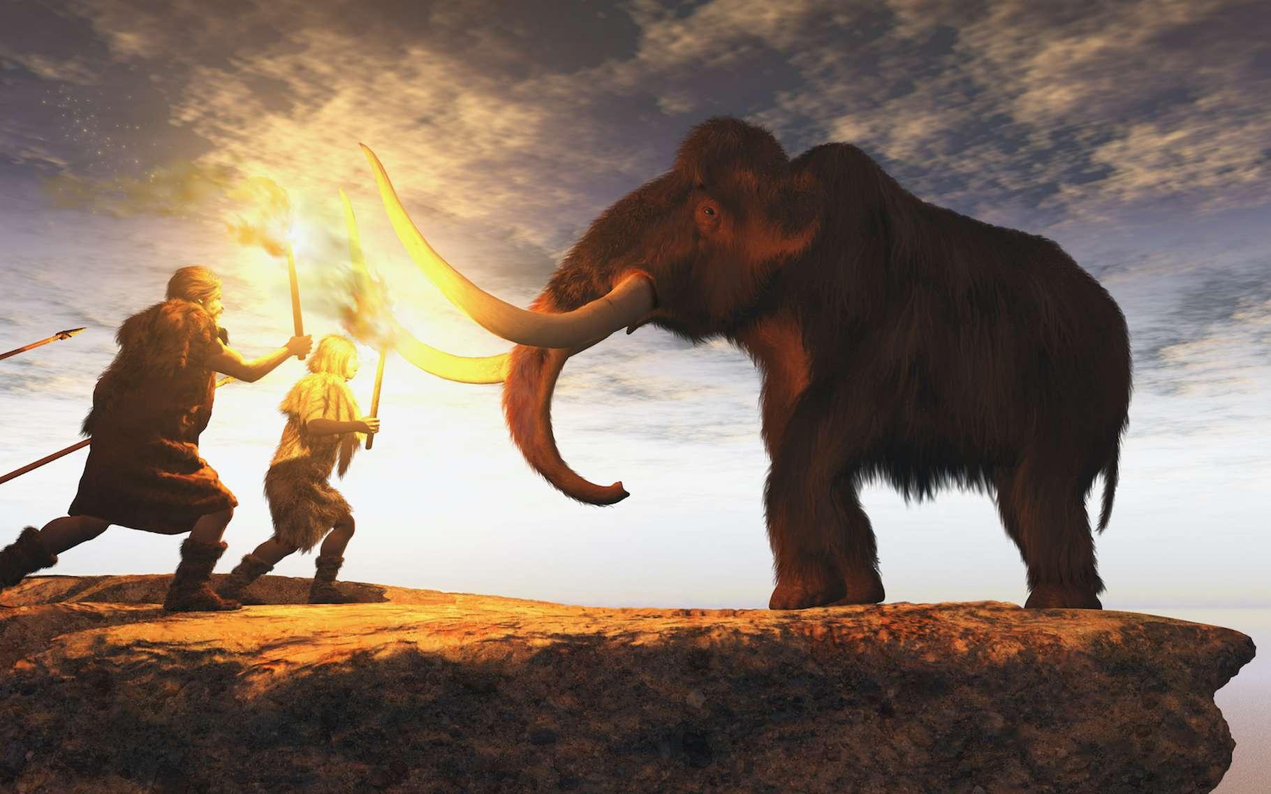 Le développement du cerveau humain et la disparition des grands mammifères seraient liés - Futura