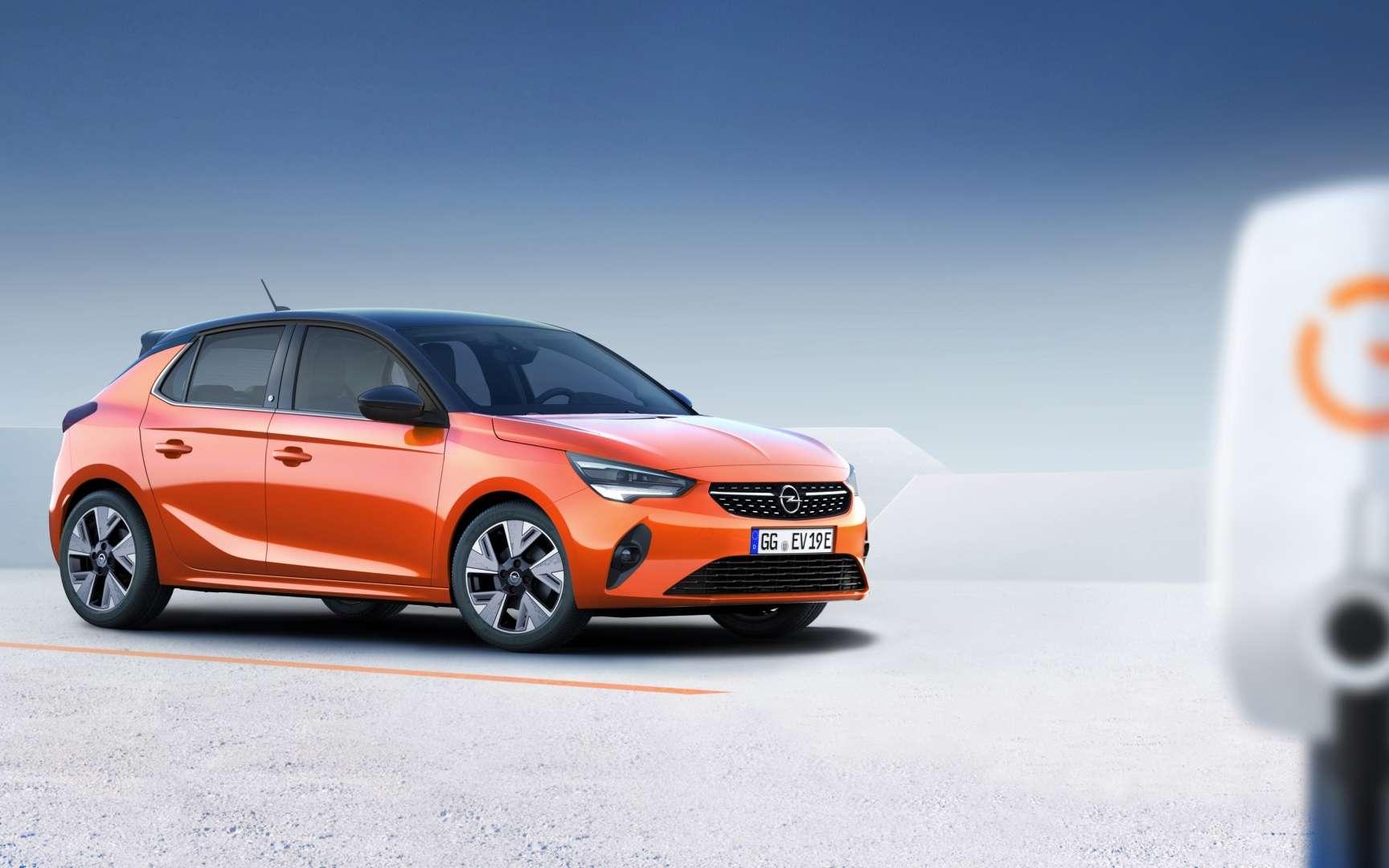 La nouvelle Corsa-e arrivera en fin d'année. © Opel