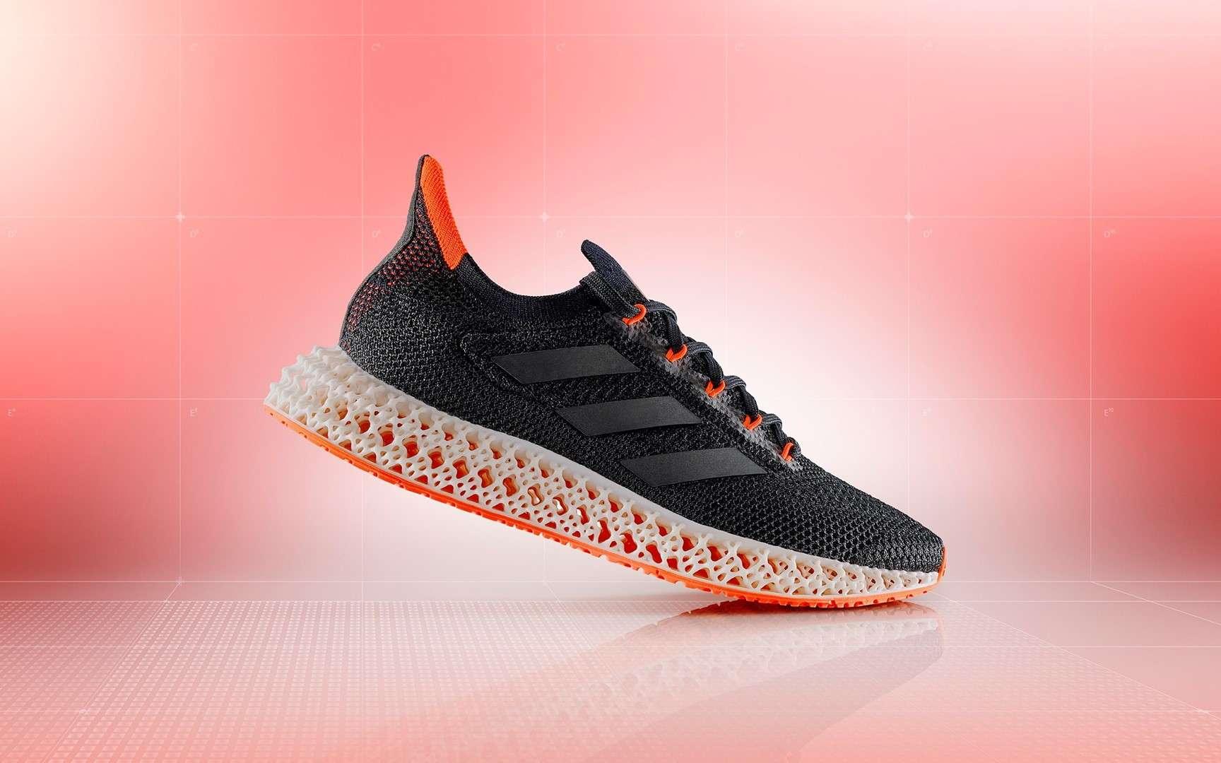 Adidas lance une chaussure avec semelle intercalaire imprimée en 3D
