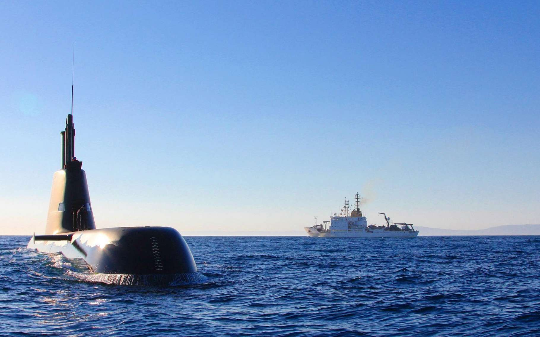 Le centre sur la recherche maritime de l'Otan basé à La Spezia en Italie a développé la norme de communication sous-marine Janus qui est reconnue par tous les membres depuis mars 2017. © Centre for Maritime Research and Experimentation, Otan