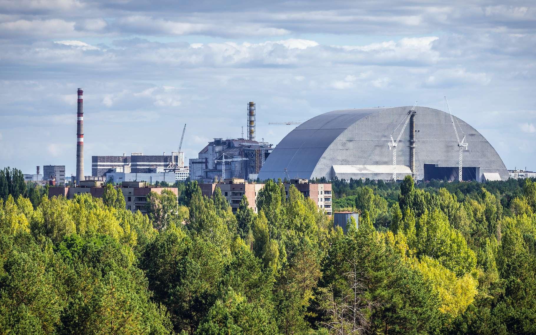 Tchernobyl : un incendie ravive la radioactivité dans la zone d'exclusion