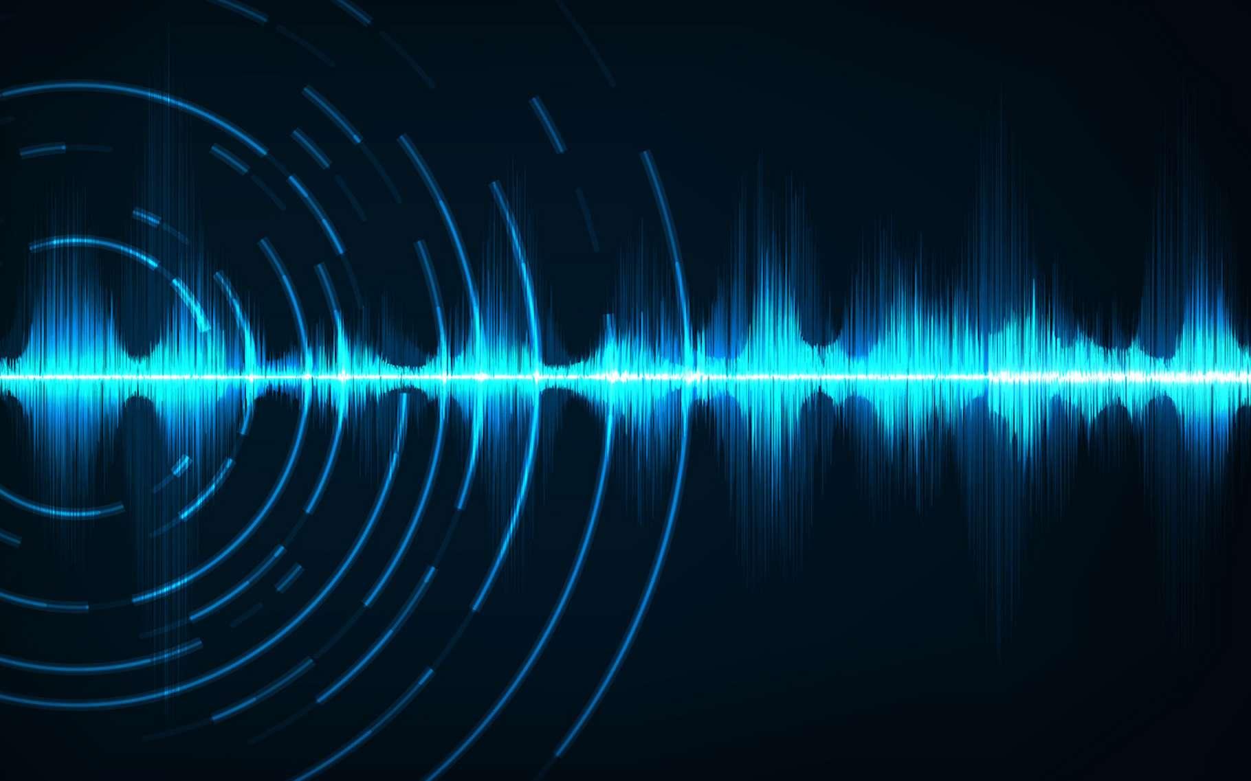 Grâce à un laser dont le faisceau est absorbé par la vapeur d'eau contenue dans l'air, des chercheurs sont parvenus à générer et à transmettre des sons par voie aérienne, et de manière hautement ciblée dans un environnement bruyant. © your123, Fotolia