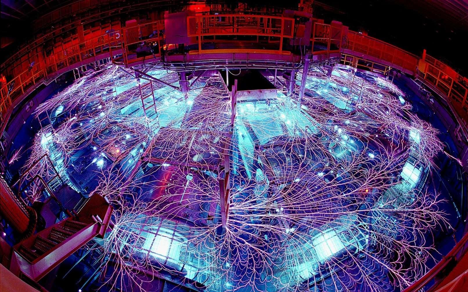 Des scientifiques reproduisent l'intérieur des superterres sur Terre avec la Z-machine - Futura