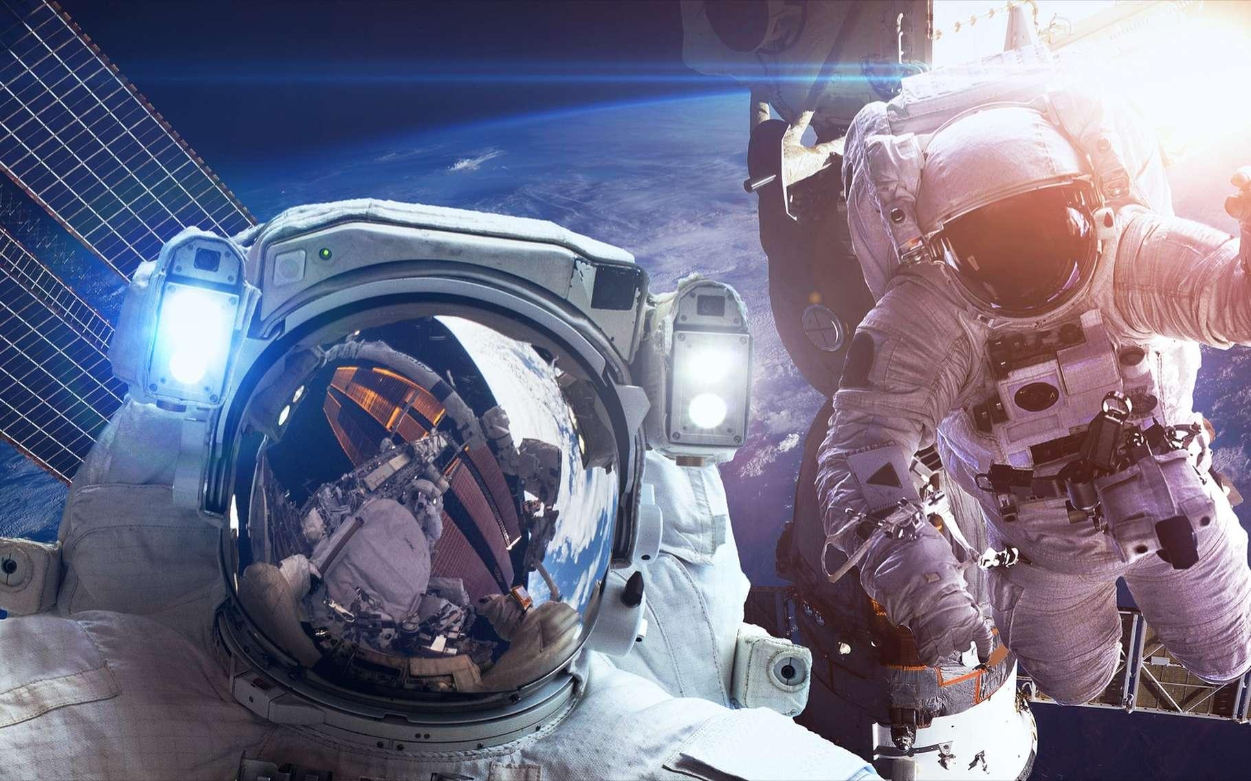 Mal au dos ? C'est peut-être à cause de votre dernier voyage dans l'espace. © Vadim Sadovski, Shutterstock