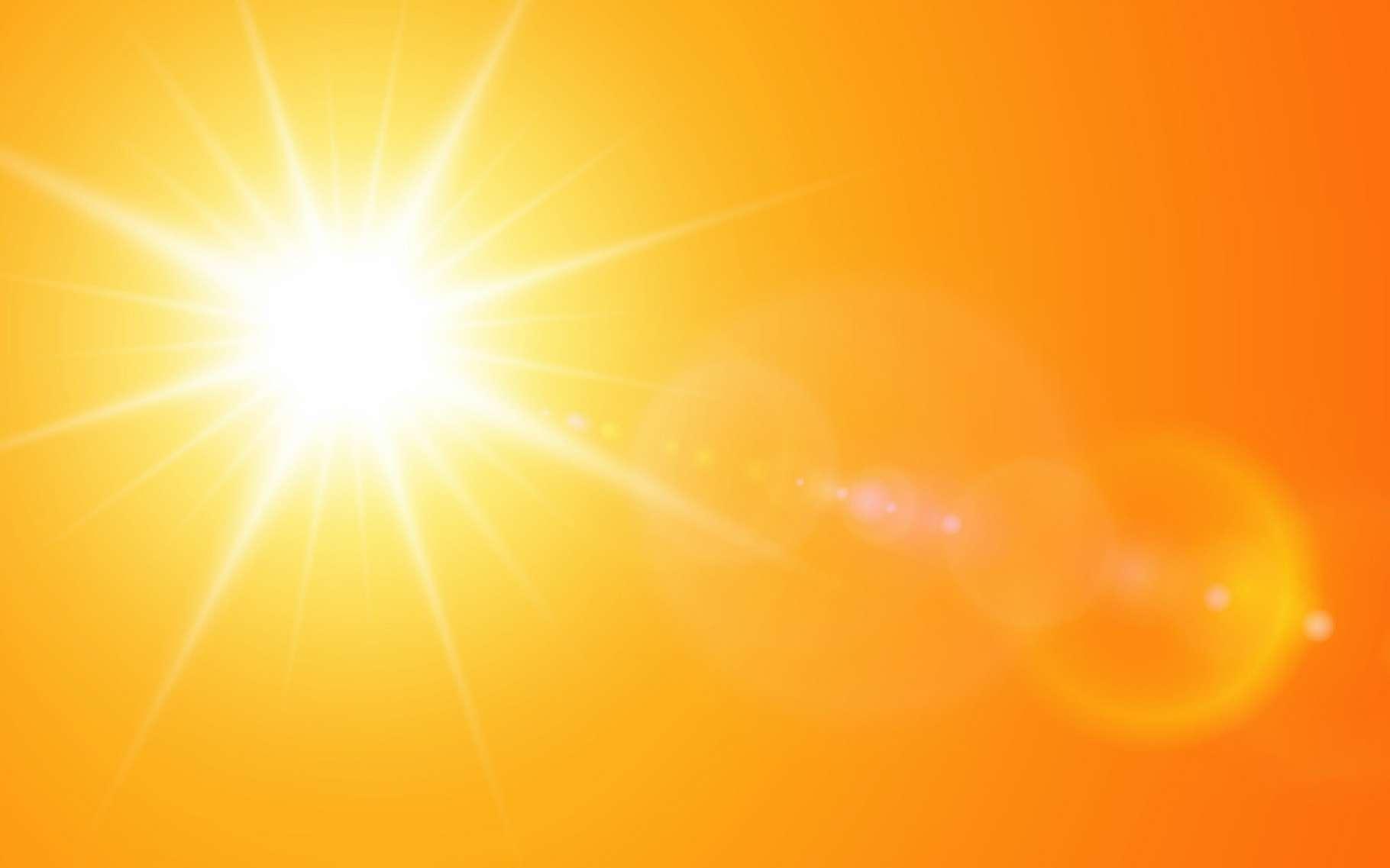 Sur des images l'Interface Region Imaging Spectrograph (IRIS) de la Nasa, des astronomes ont observé des nanojets dans la couronne de notre Soleil. © Cobalt, Adobe Stock