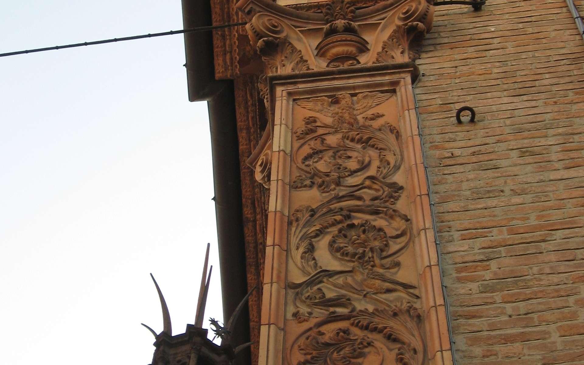 Le pilastre est une sorte de pilier à but uniquement décoratif. © Ho vista nina volare, CC BY-SA 2.0, Wikimedia Commons