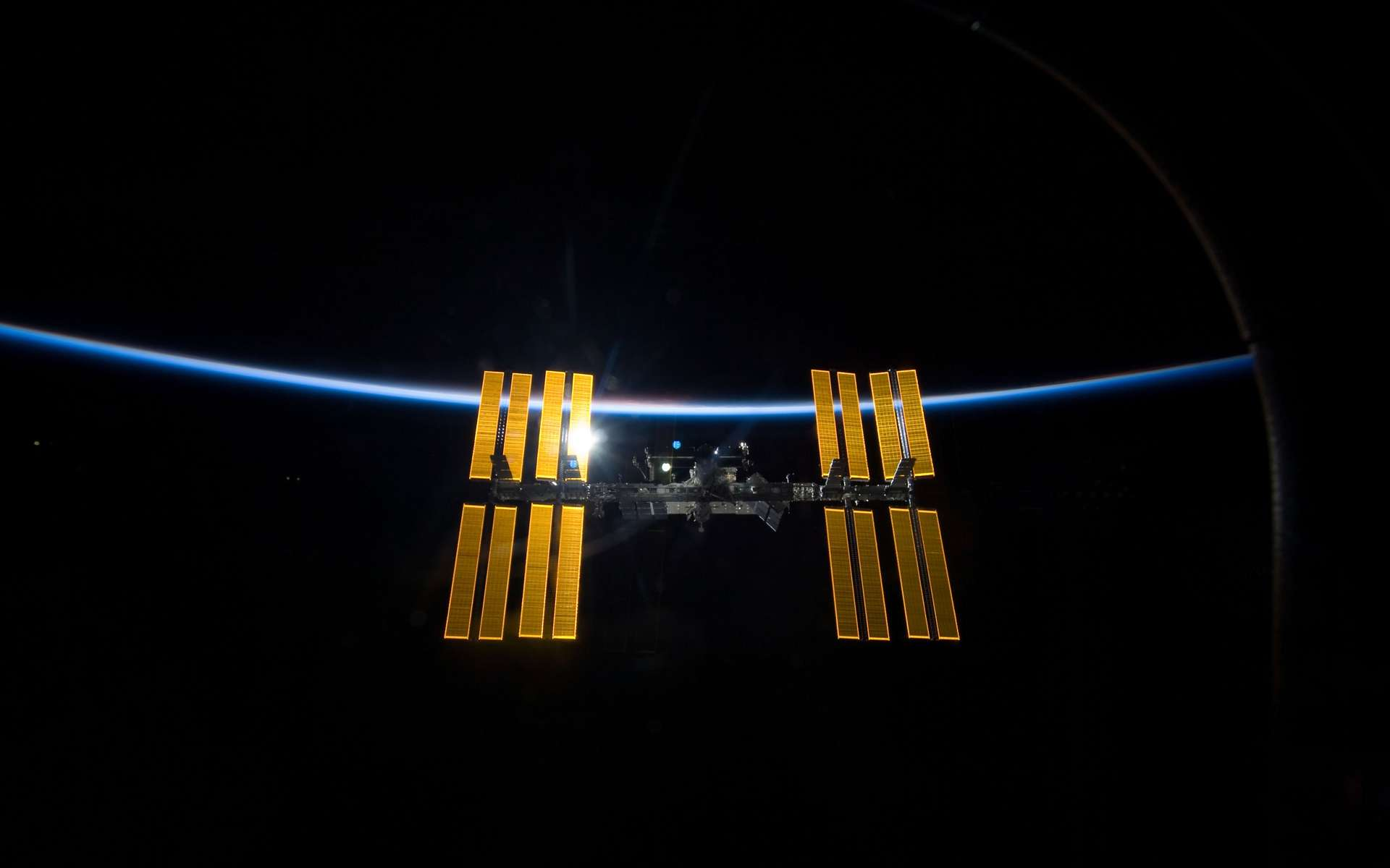 Vue de la Station spatiale internationale. © Nasa