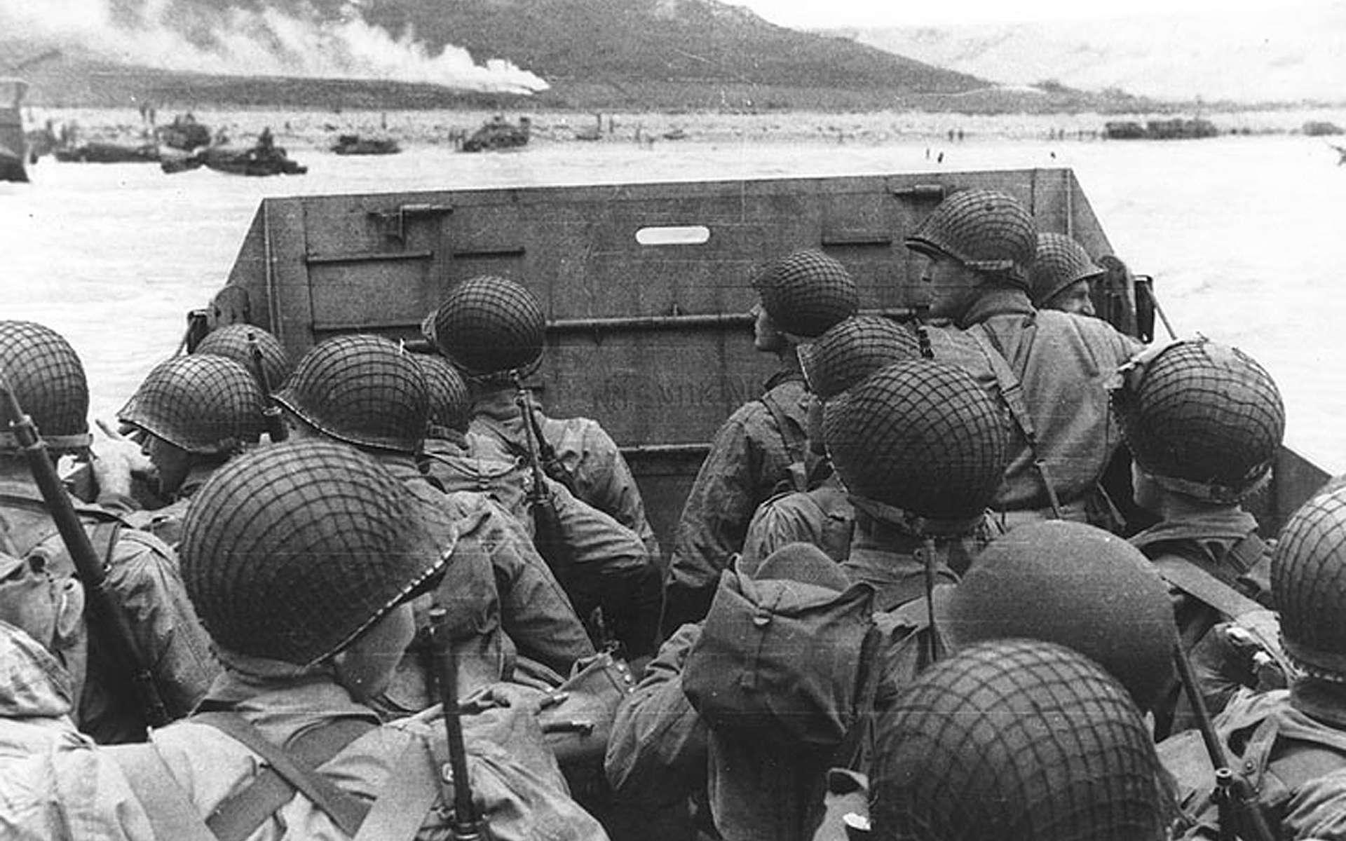 Le débarquement de Normandie du 6 juin 1944, ou D-Day, est l'une des plus grandes batailles de la seconde guerre mondiale. © DVIDSHUB, Wikimedia Commons, CC by-sa 2.0
