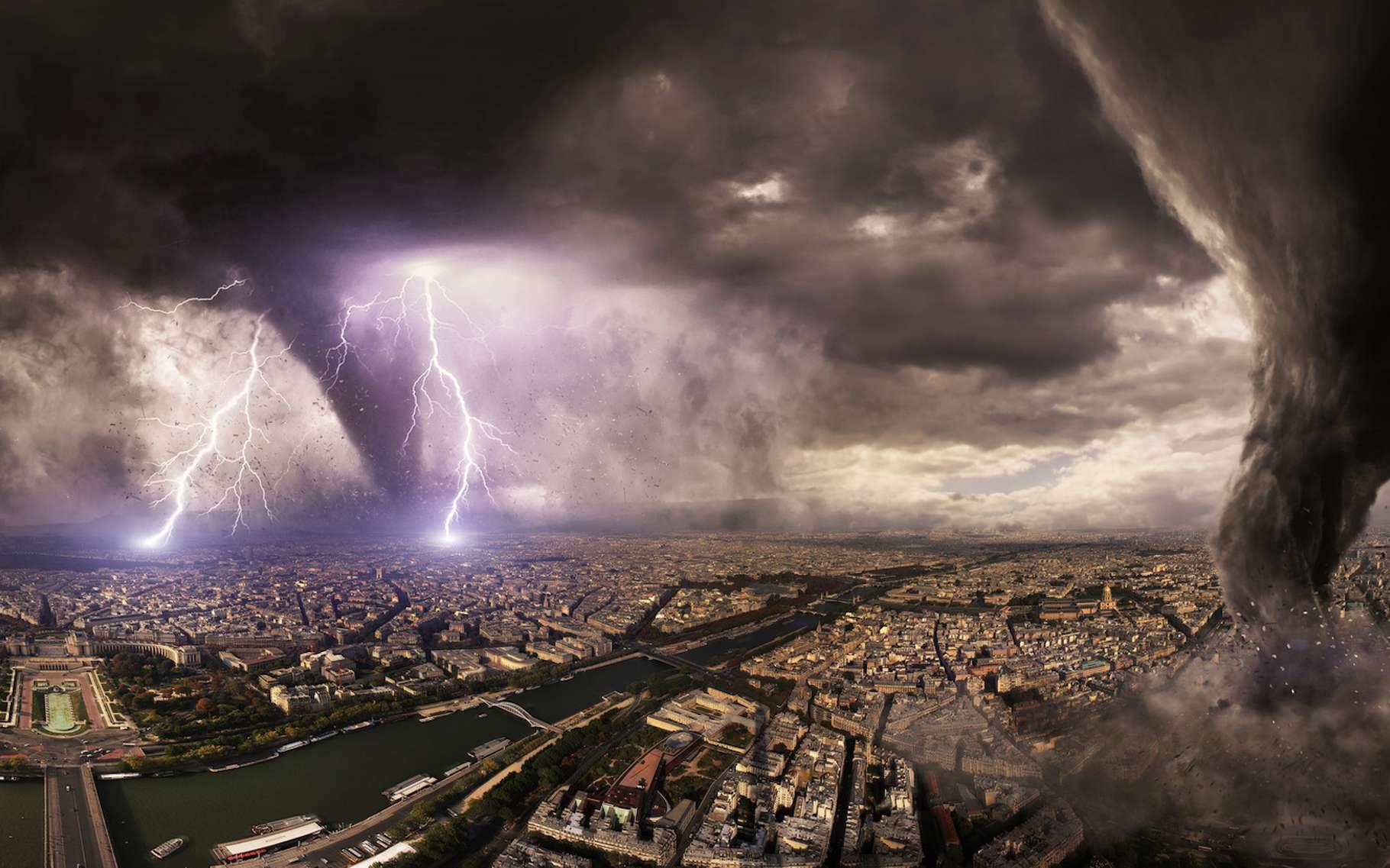 En France, seulement deux tornades de classe EF5 ont été recensées : la plus récente en 1967, l'autre en 1845. © sdecoret, Fotolia