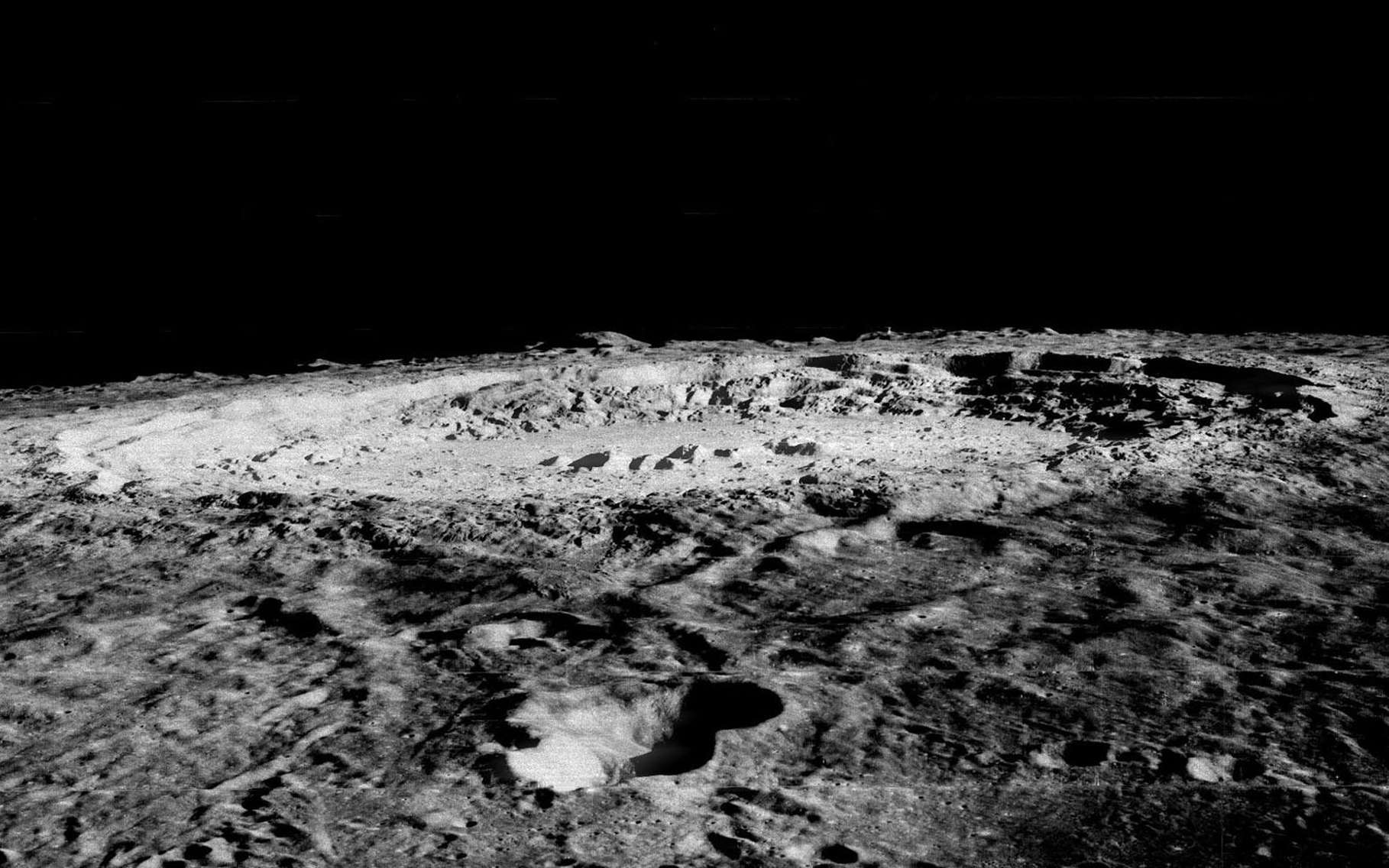 La Lune est constellée de centaines de milliers de cratères. Des chercheurs ont développé un outil basé sur l'intelligence artificielle capable de les détecter. L'IA a trouvé 6.000 nouveaux cratères. © Nasa, JPL, USGS