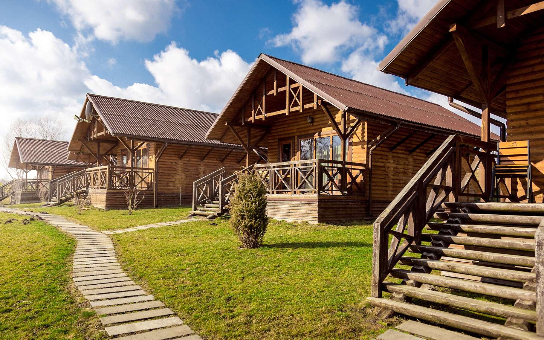 Le succès des maisons en bois est en hausse. © kryzhov, Shutterstock
