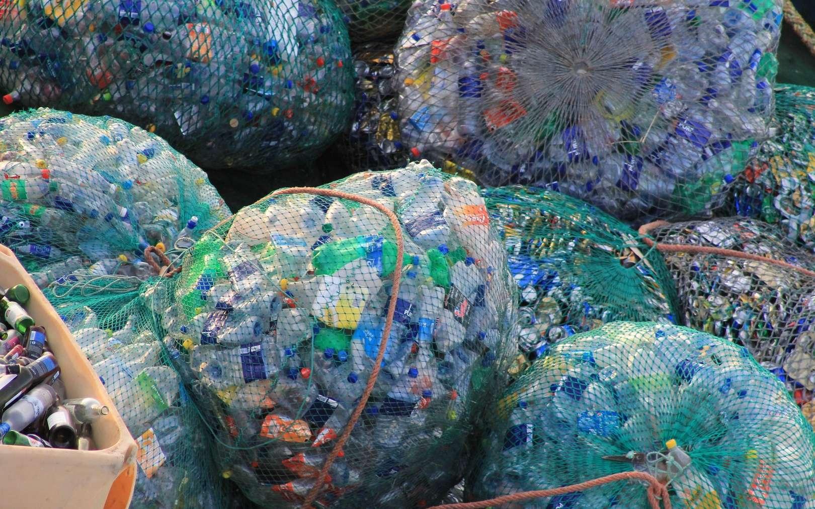 Les pays riches ont pris l'habitude d'envoyer leurs déchets plastique recyclables vers la Chine. © pxHere