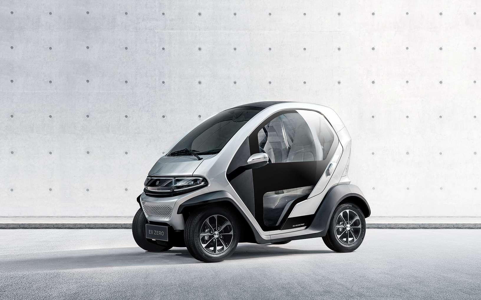 L'Eli Zero est un peu moins longue que la Citroën Ami. © Eli Electric Vehicles