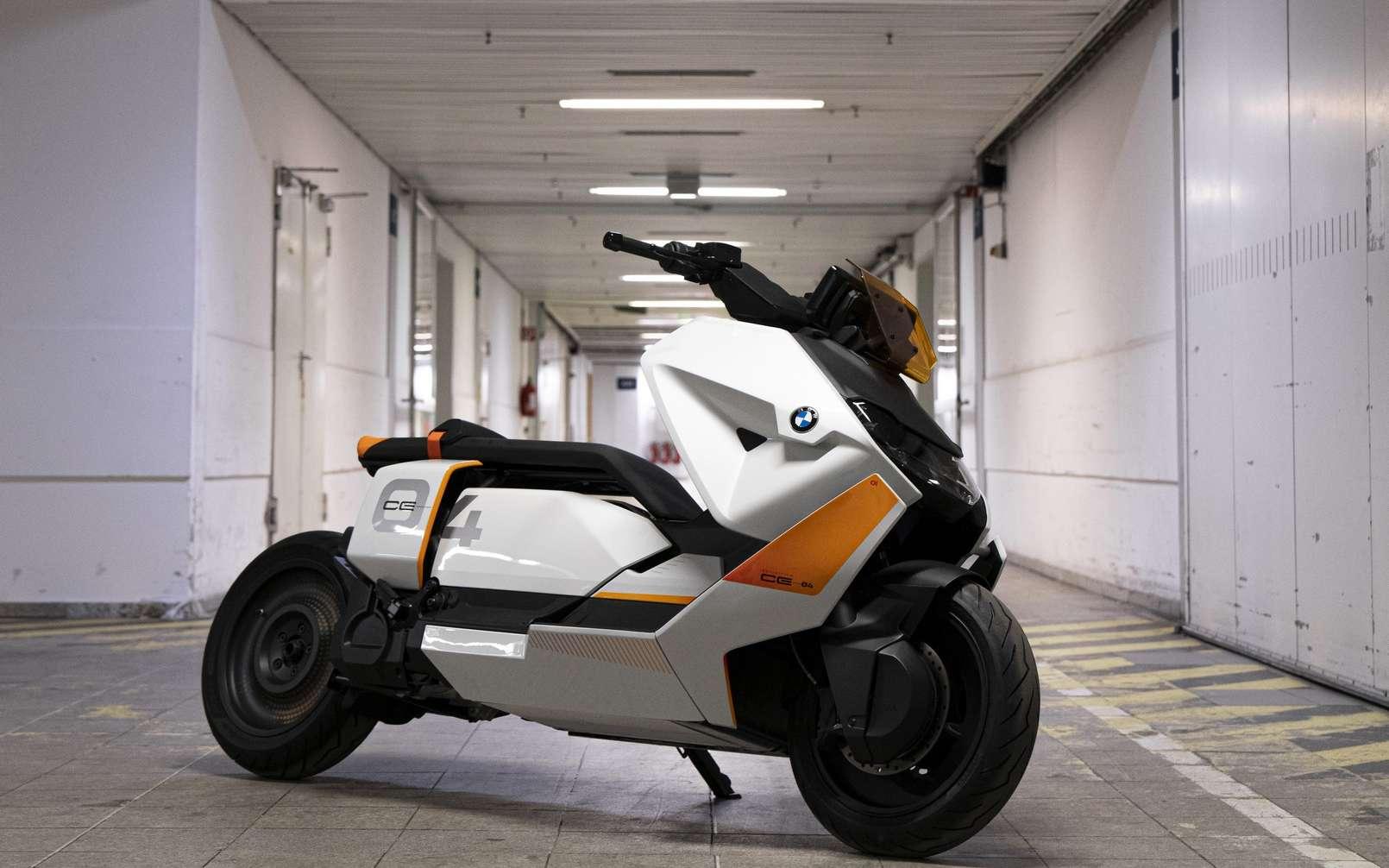 Le scooter électrique BMW Definition CE 04. © BMW