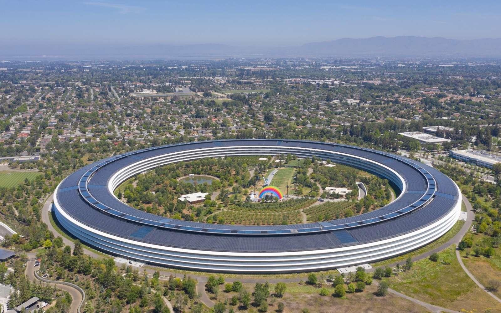 La maison mère d'Apple à Cupertino depuis avril 2017. © Arne Müseler, Wikimedia Commons, CC by-sa 3.0