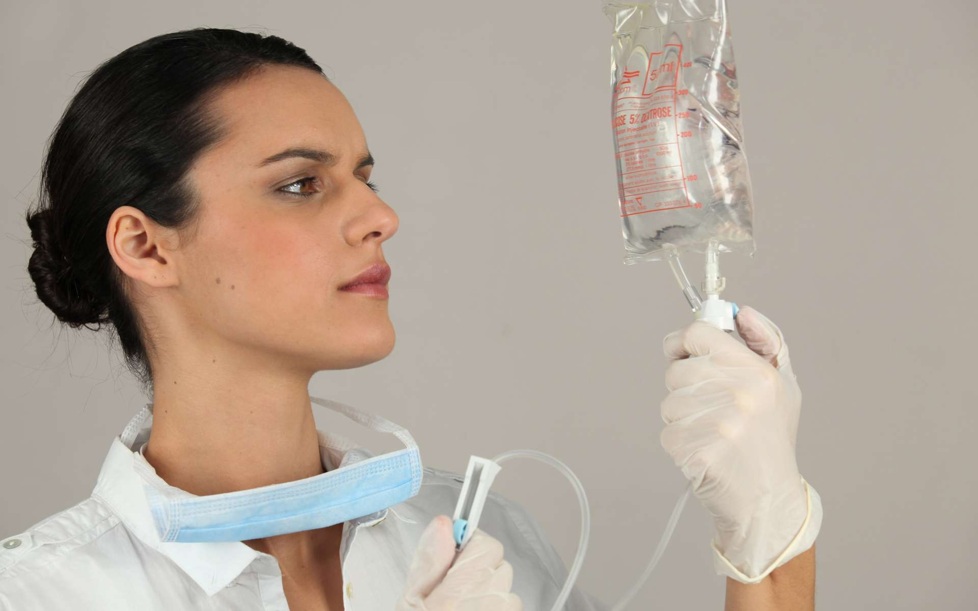 Les anesthésiants analgésiques sont aussi appelés morphiniques. © Phovoir