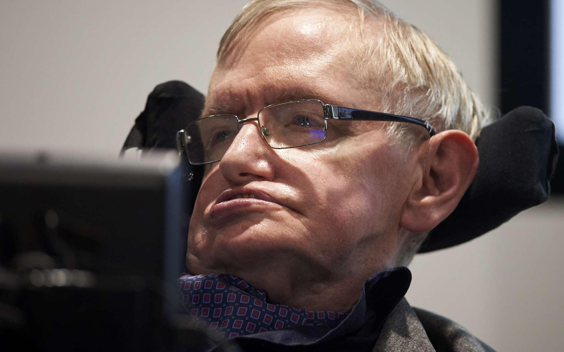 Les archives et le bureau du célèbre astrophysicien Stephen Hawking seront exposés à la Bibliothèque de l'Université de Cambridge et au musée des Sciences à Londres. © Niklas Halle'n, AFP