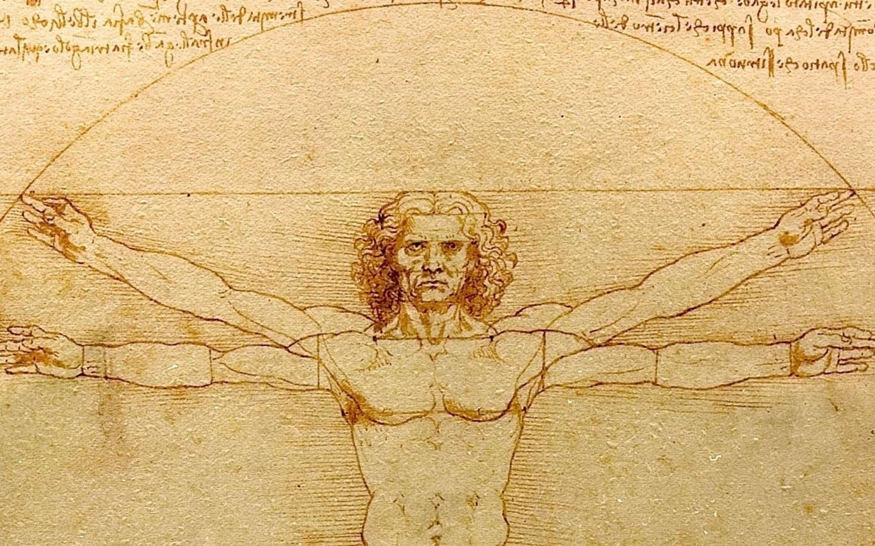 Un détail de la fresque de Vasari avec le fameux « cerce trova » indiquant peut-être la fresque perdue de Léonard. © Luc Viatour, DP