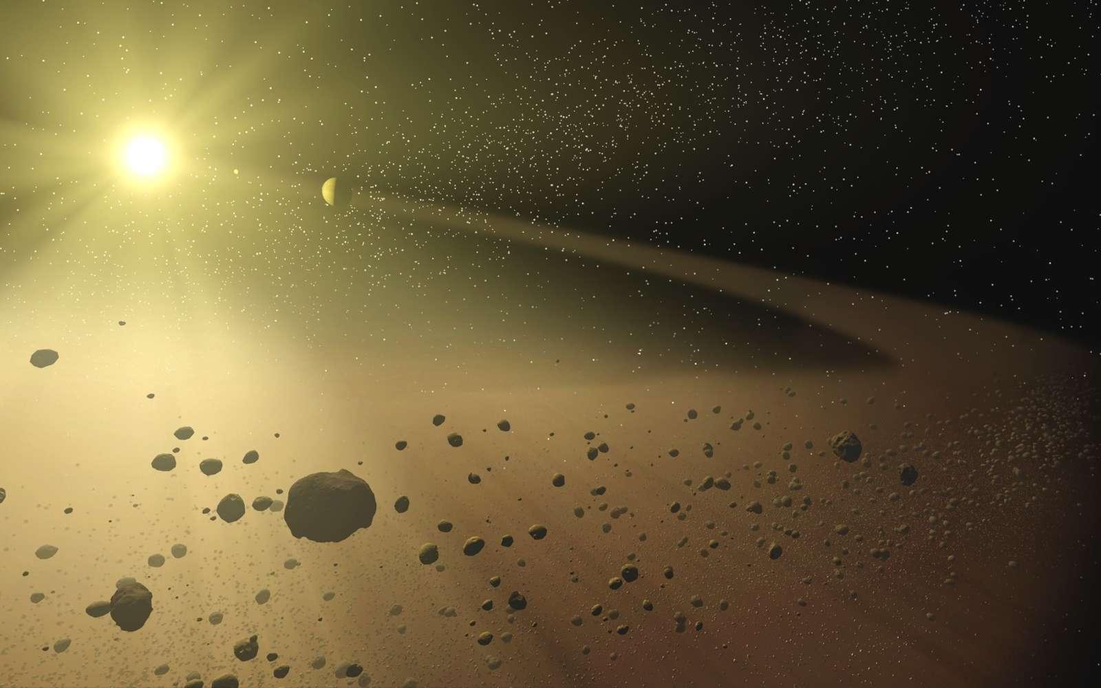 Formation de planète. © Nasa/JPL-Caltech/T. Pyle (SSC)