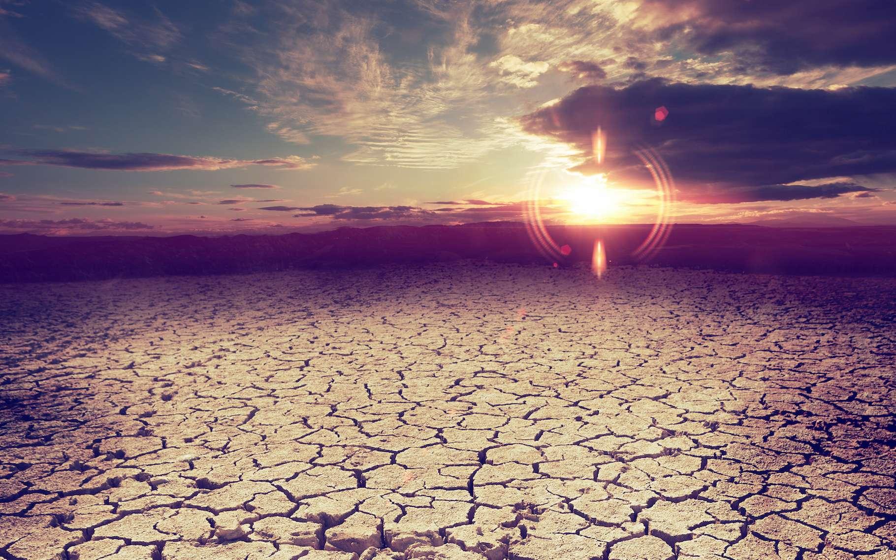 Élévation du niveau des mers, événements météorologiques extrêmes, diminution de la productivité agricole. Le réchauffement climatique va coûter cher à nos sociétés. © carloscastilla, Adobe Stock