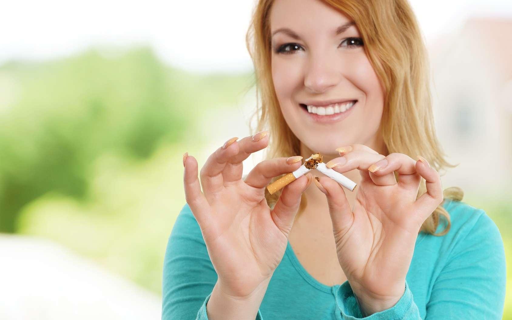 À l'occasion du mois sans tabac, Futura vous donne cinq méthodes pour arrêter de fumer. © underdogstudios, Fotolia