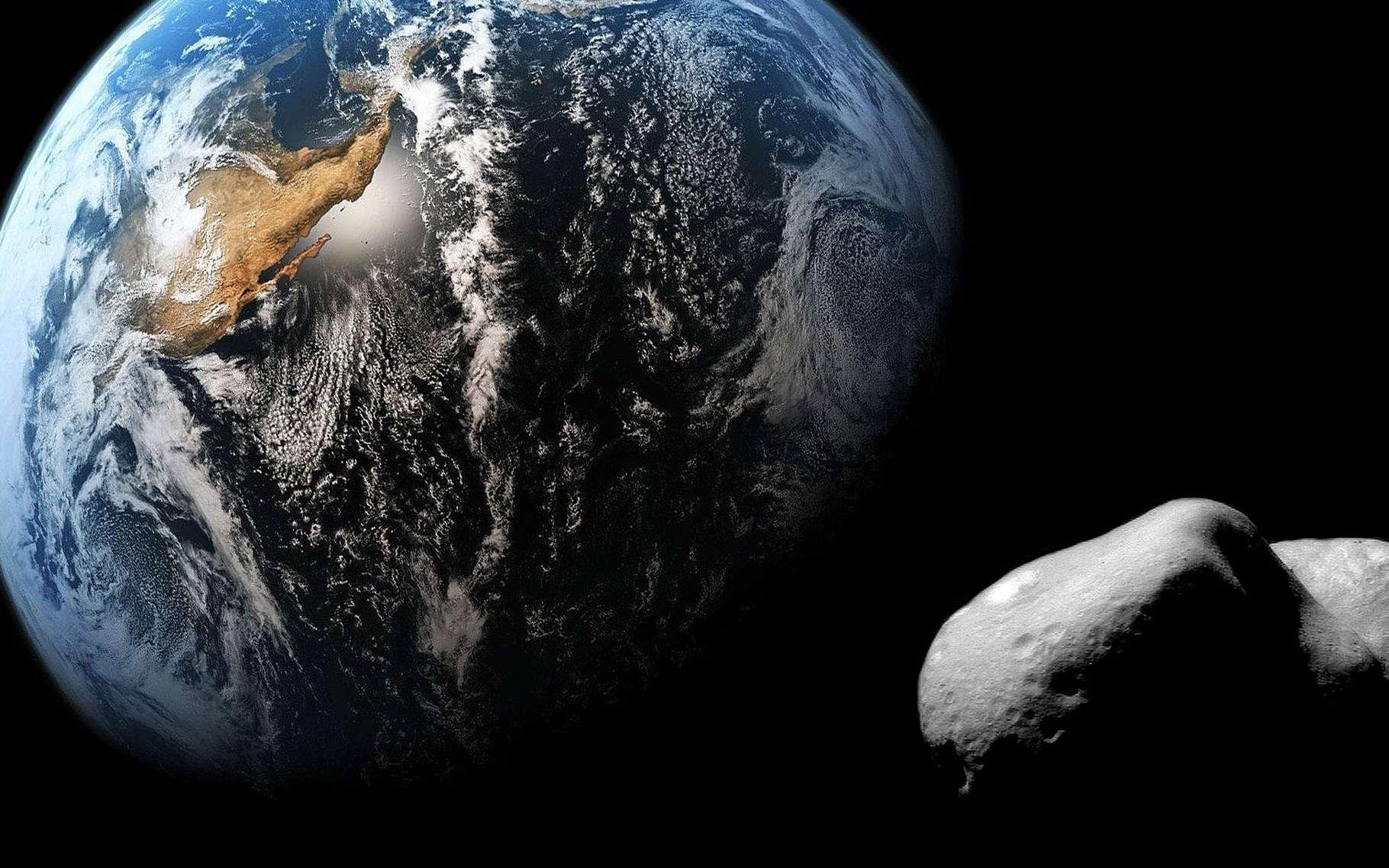 Il n'y a pas que des planètes dans le Système solaire. Le Soleil fait aussi tourner des poussières et des gros rochers, dont certains sont si massifs qu'ils en deviennent à peu près sphériques, les astéroïdes. Ils sont parfois menaçants et souvent bavards sur l'histoire de notre monde. © DR