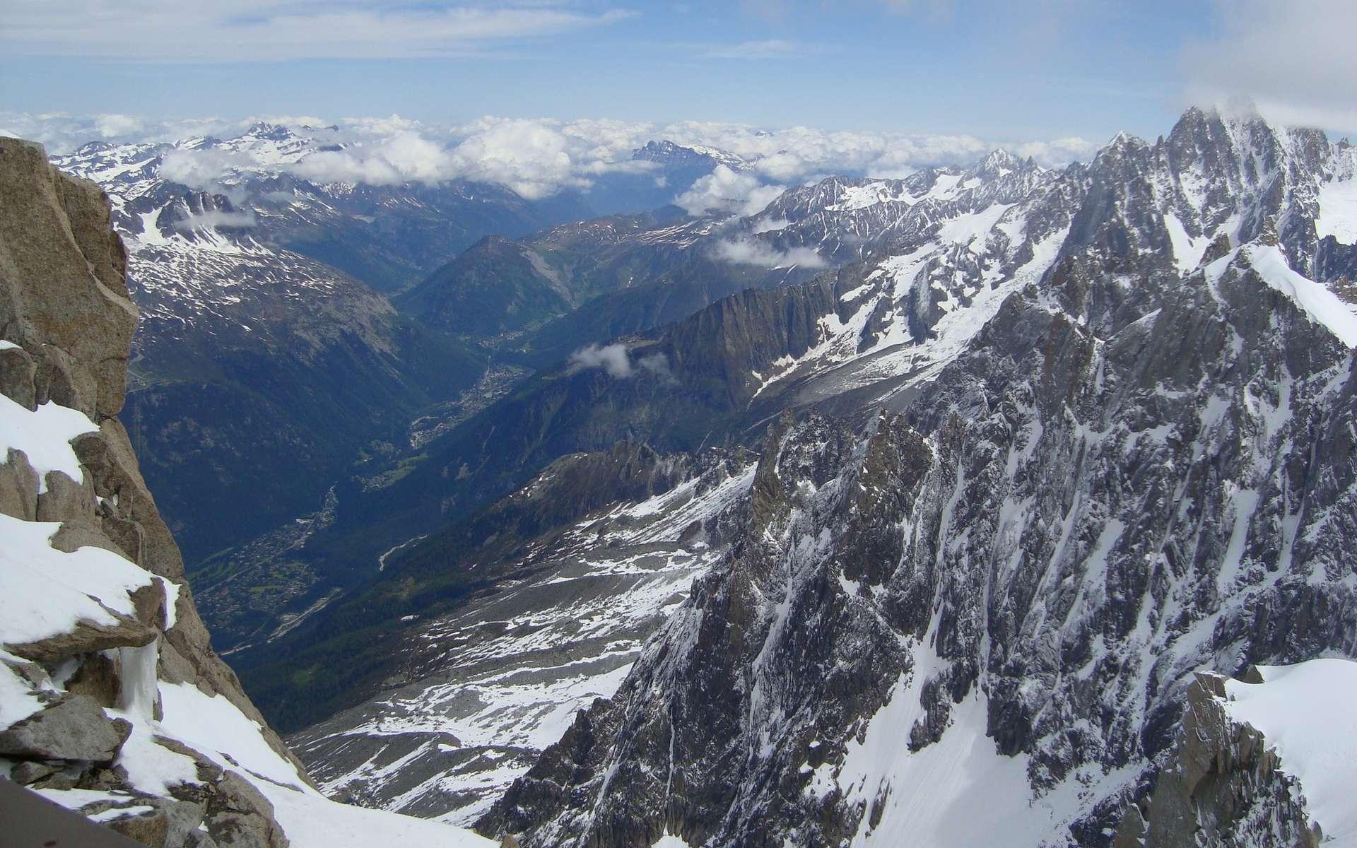 Aiguilles du Midi. © Andy Smedley, imaggeo.egu.eu