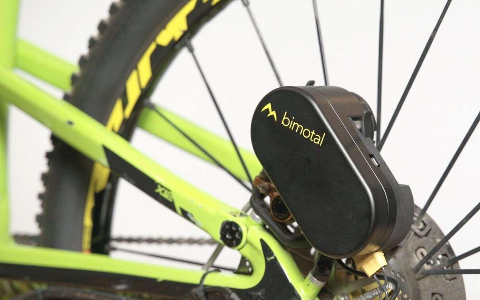 Le kit Elevate de Bimotal s'adresse à ceux qui veulent passer vélo musculaire à l'électrique et vice-versa. © Bimotal