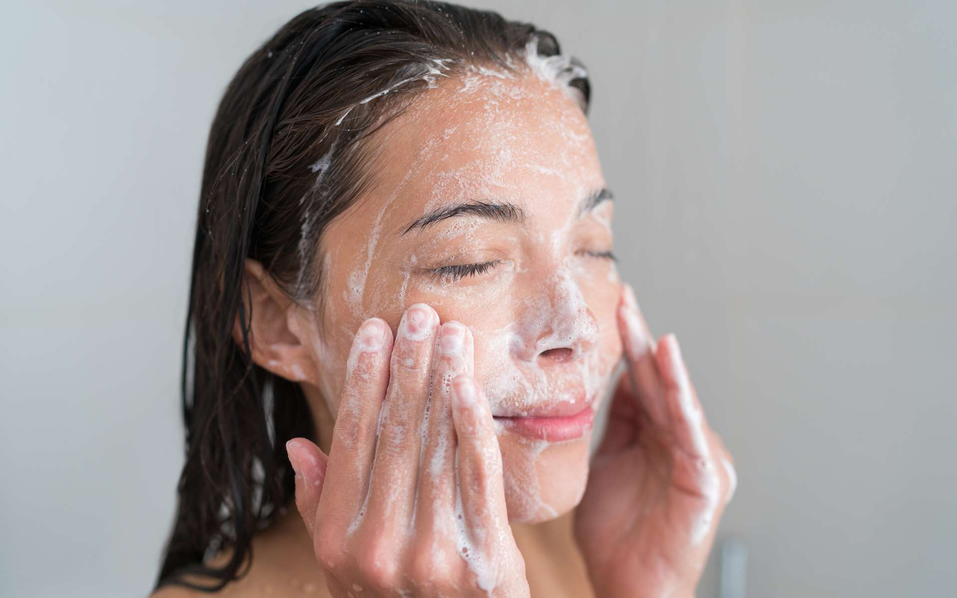 Le savon au lait d'ânesse serait bénéfique pour la santé de la peau. © Maridav, Adobe Stock