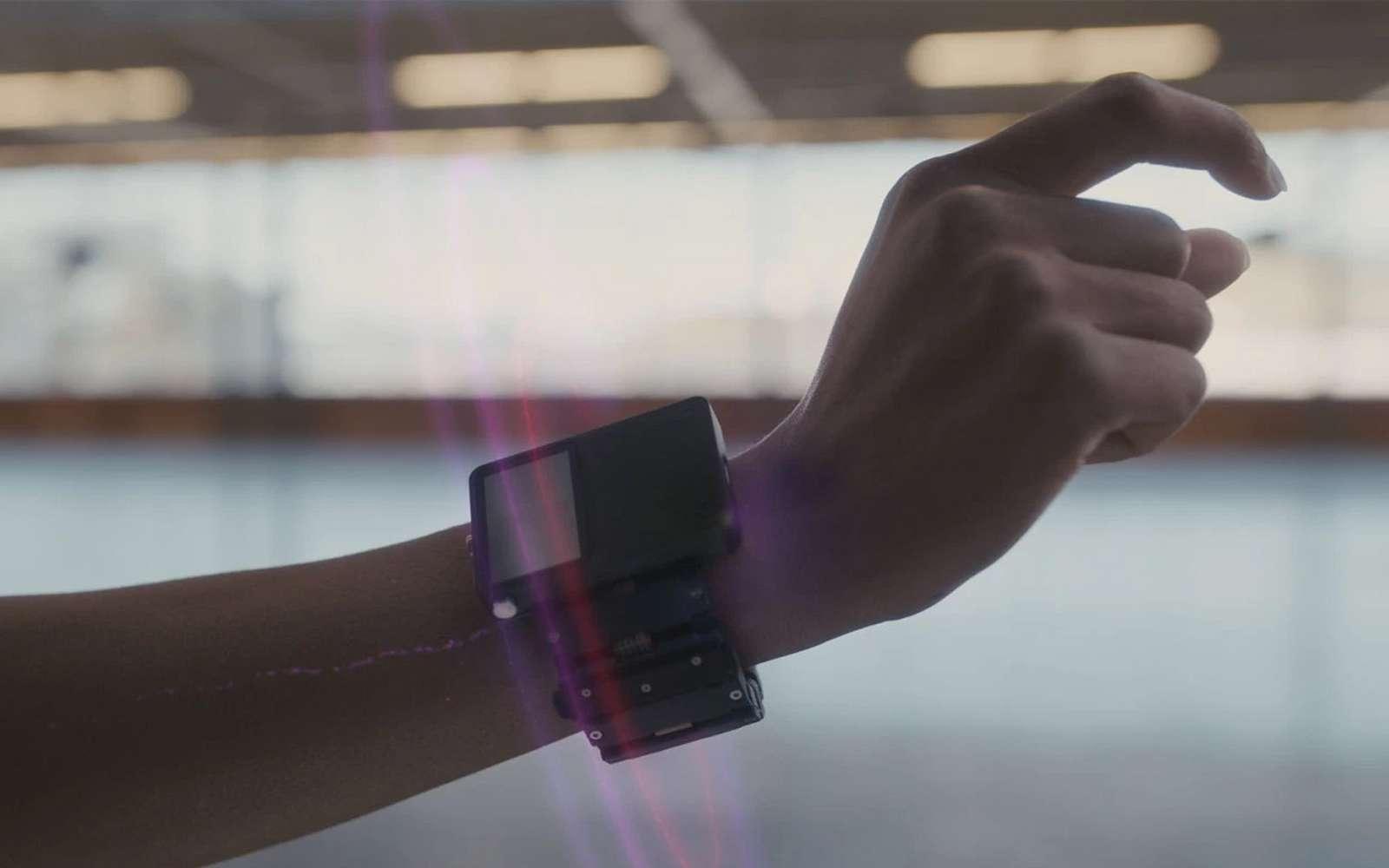 Plutôt que des manettes, Facebook travaille sur des bracelets neuronaux pour manipuler les objets virtuels. © Facebook