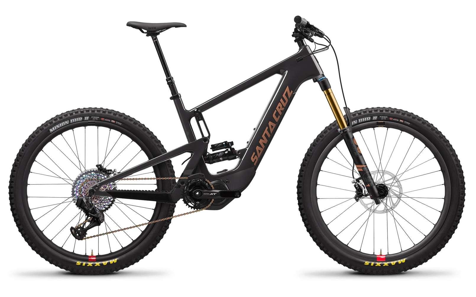 Le Santa Cruz Heckler est la version électrique du Bronson. © Santa Cruz Bicycles