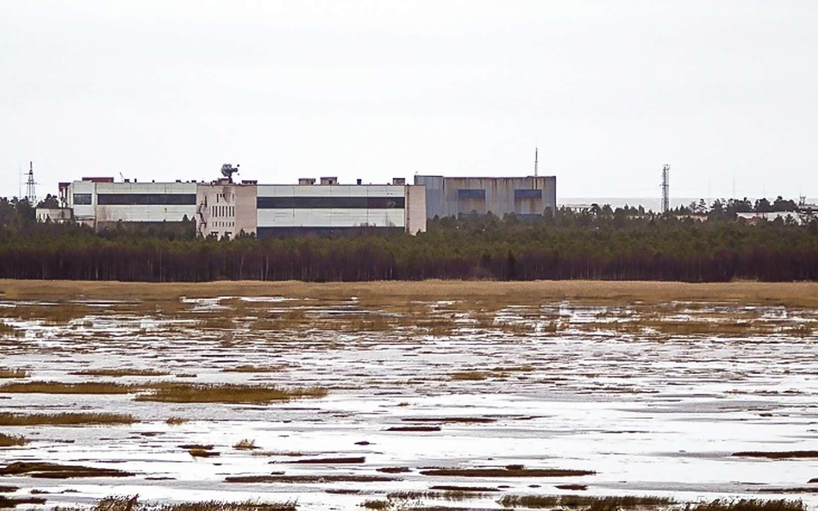 La base de lancement de missiles de Nionoska, le 9 novembre 2011 dans la région d'Arkhangelsk, dans le Grand Nord russe. © AFP, Archives