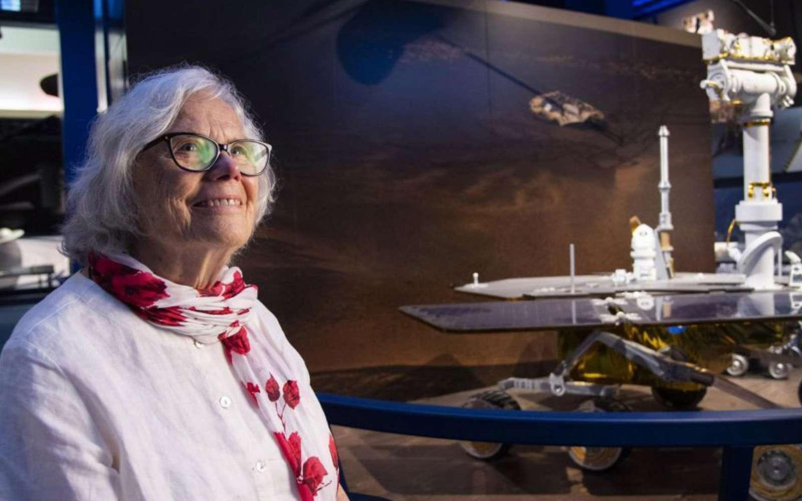 Sue Finley, au Jet Laboratory à Pasadena (Californie), le 11 juillet 2019. © Robyn Beck, AFP