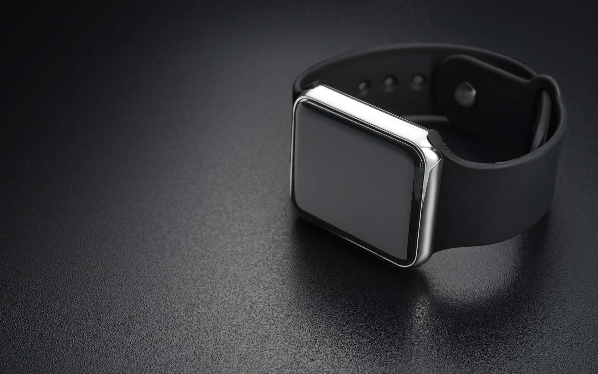 La montre connectée dispose de multiples fonctionnalités. © Kuzmick, Adobe Stock