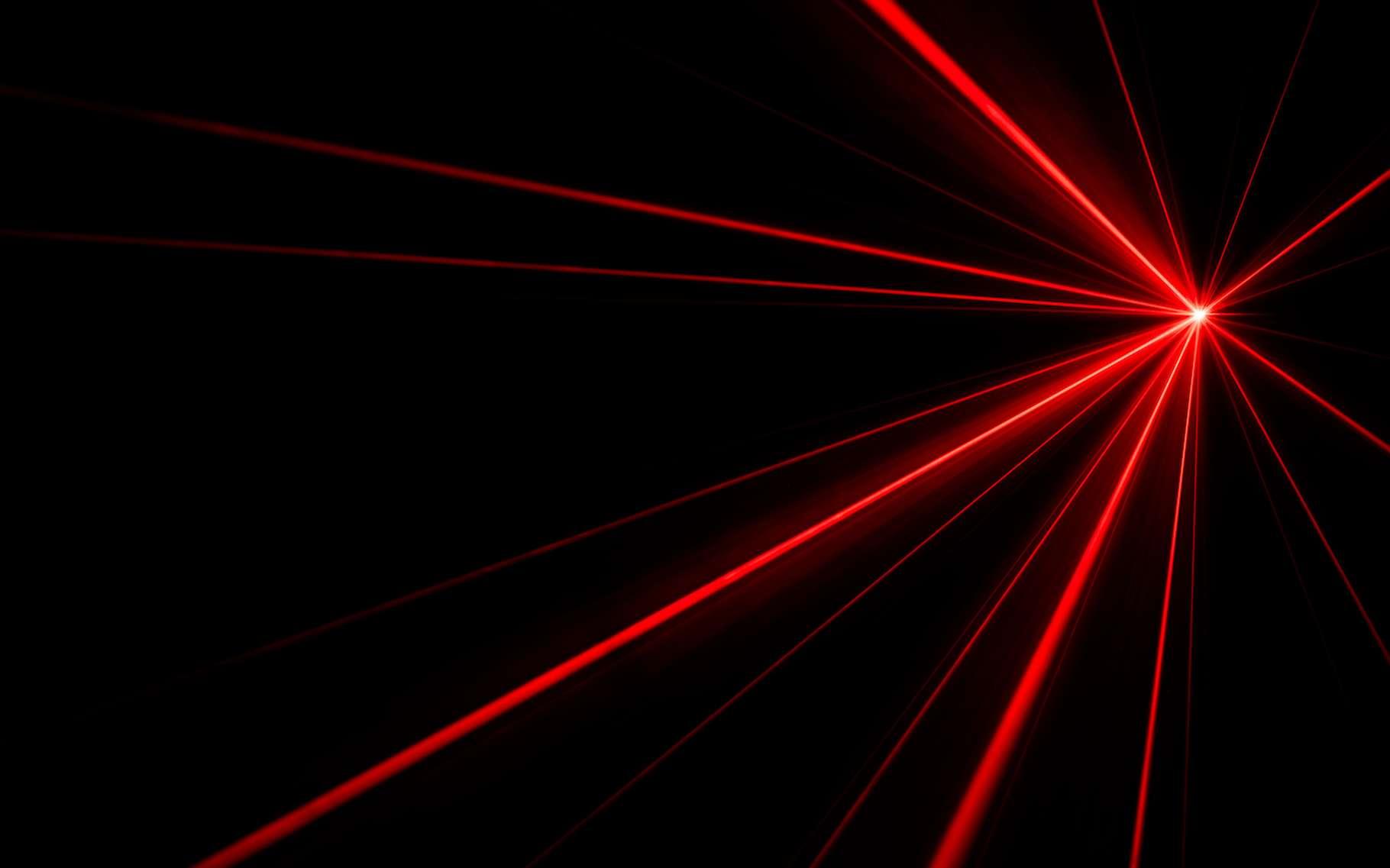 Les travaux d'un physicien de l'université de Californie à Riverside (États-Unis) pourraient aider à concevoir enfin un laser qui — à l'image de ce que fait un laser classique dans le visible — produirait des rayons gamma cohérents. © donatas1205, Adobe Stock